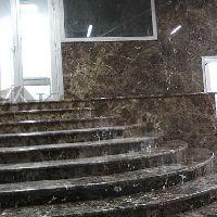 Изготовление лестницы из натурального камня