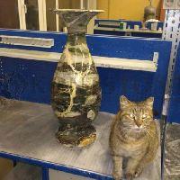 Реставрация вазы из оникса