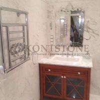Ванная комната из мрамора Carrara