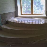 Ванная комната из мрамора Crema Marfil