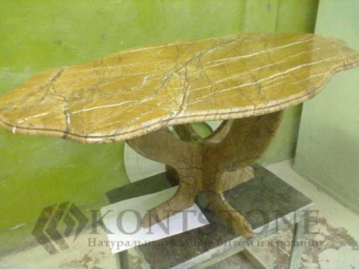 Стол из мрамора SPANISH GOLD