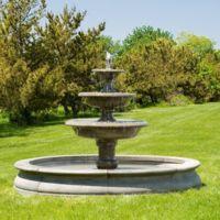 фонтаны из натурального камня для дома и дачи на заказ