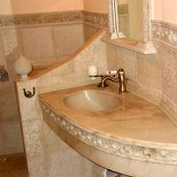 Преимущества раковины из мрамора для ванной