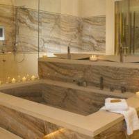 изготовления ванн из натурального камня