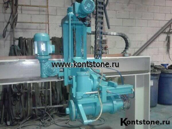 Автоматический мостовой станок для обработки гранита