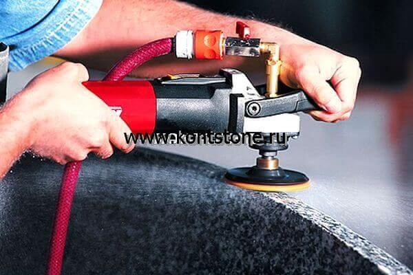 Шлифовально-полировальный станок для обработки гранита