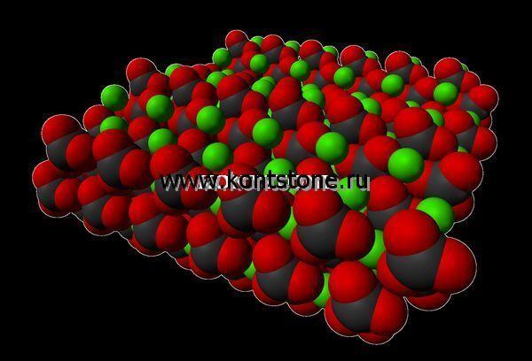 Какая химическая формула мрамора