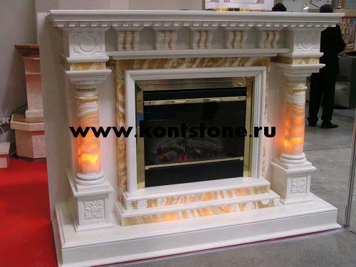 Камины из мрамора – цены, изготовление камина