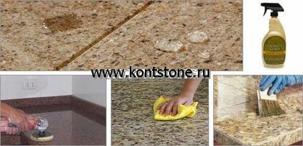 Шлифовка натурального природного камня